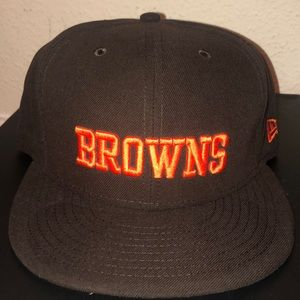 NEW ERA Cleveland Browns fitted hat